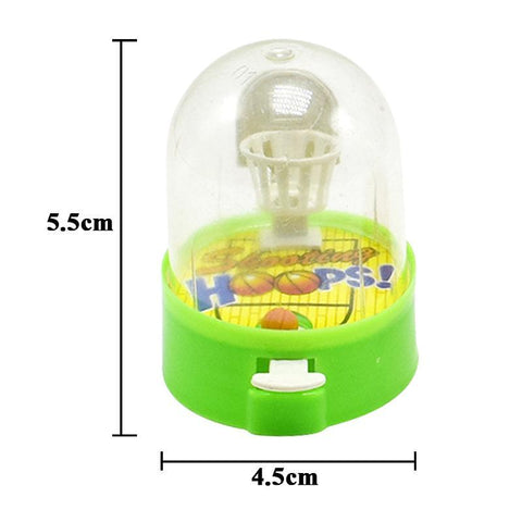 Mini Handheld Palm Basketball Shooting Toy Finger Gadget - fobglobal