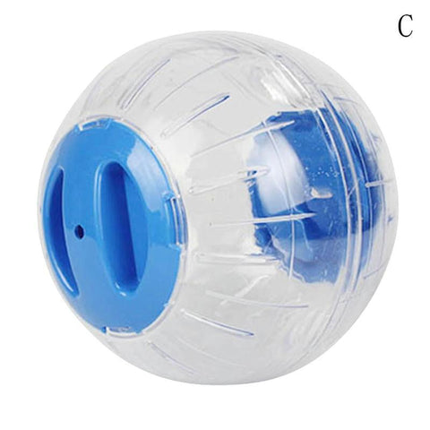 Running Ball for Pets Transparent Grounder Small Cat Chinchilla Hamster Toy