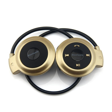 Image of MP3 Player Bluetooth Headphone, Wireless Sport Headset MP3 Player With FM Radio, Stereo Earphone TF Card MP3 Max to 32GB - fobglobal