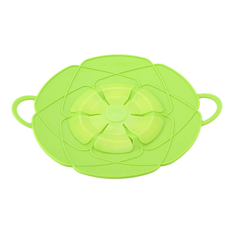 Silicone Lid Spill Stopper Pot Cover 28.5cm Diameter
