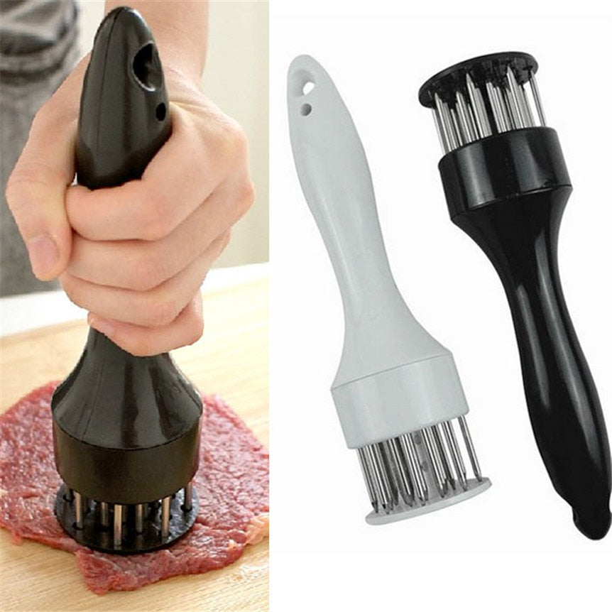 Meat Tenderizer Injection Needle Stainless Steel Kitchen Gadget - fobglobal