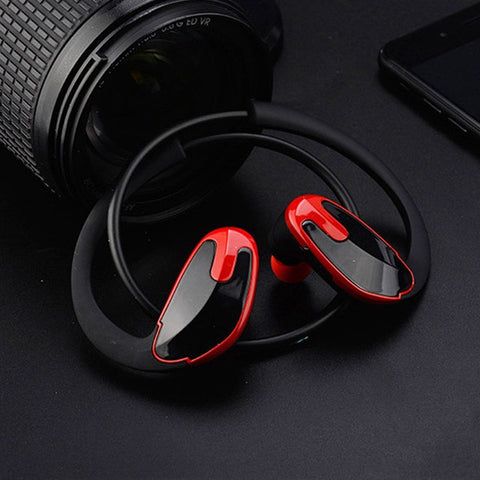 Neckband Headphones Bluetooth Earphone with Mic Wireless Stereo Headset - fobglobal