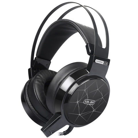 Gaming Headset Wired PC Stereo Earphones Headphones with Microphone for Computer Gamer - fobglobal