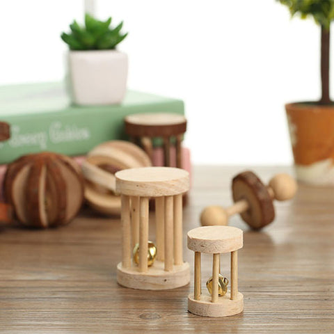 Image of Wood Mini Teeth Care Toy for Pet Rabbit Chinchilla Hamster