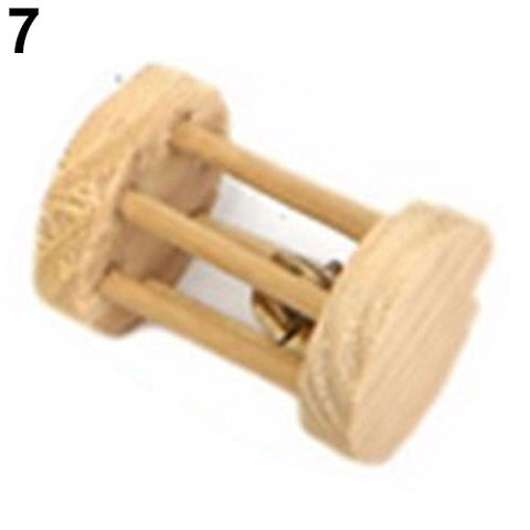 Wood Mini Teeth Care Toy for Pet Rabbit Chinchilla Hamster