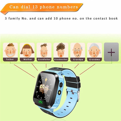NEW Smart Watch Kids Wristwatch Waterproof With Remote Camera SIM Calls