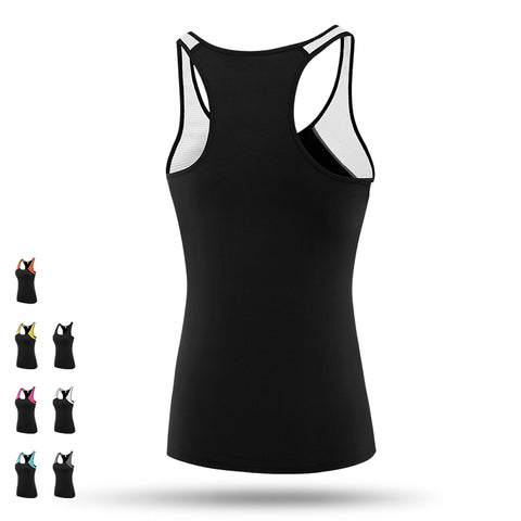 Mesh Fitness Yoga Top Breathable Sportswear Quick-Dry Sports Vest - fobglobal
