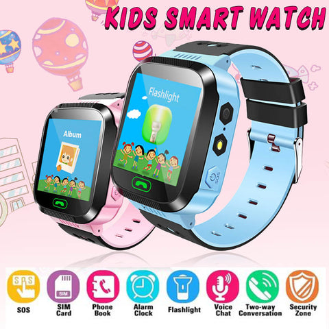 Image of Kids Smart Watch With SOS Call Camera Touch Screen Lighting