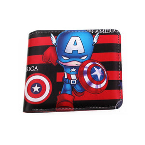 Wallet with Coin Zipper Comic Marvel Characters