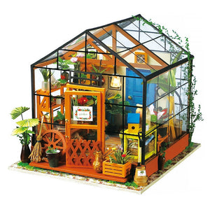 DIY House with Furniture Wooden Model Building Kit