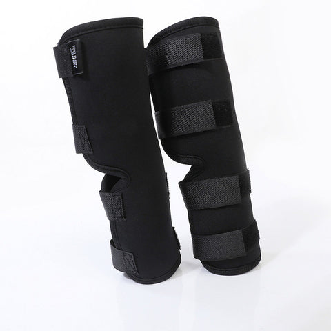 Image of 2PCS/pair Dog Leg Knee Hock Brace Straps Protection Pet Dog Bandages