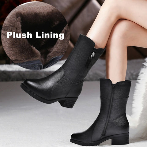 Women's Genuine Leather Boots