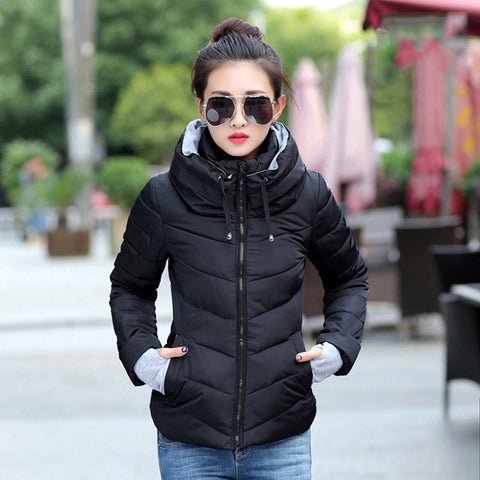 Winter Down Jacket Warm and Hooded
