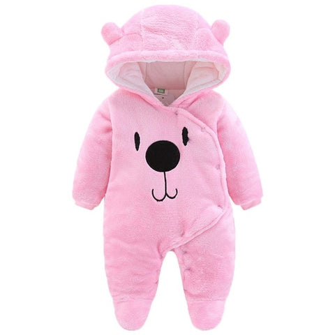 2019 Newborn Baby Winter Hoodie Clothes Polyester Infant Baby  Climbing New Spring Outwear Rompers 3m-12m Boy Jumpsuit