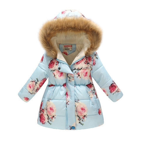 Winter Long Warm Thick Jacket