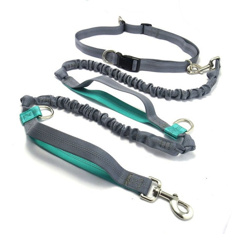 Image of Pet product Dog Leash Running  belt Jogging Sport  Adjustable Nylon Dog rope