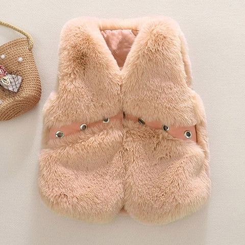 Girls Fashion Winter Warm Hooded Coat