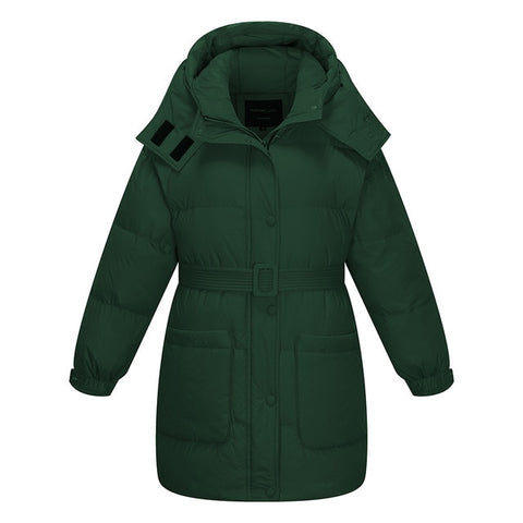 Short Winter Women Duck Down Jacket