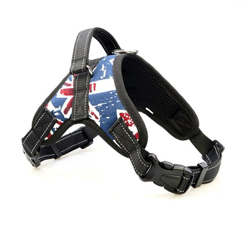 Image of Walking Pet Harness Vest Adjustable Padded