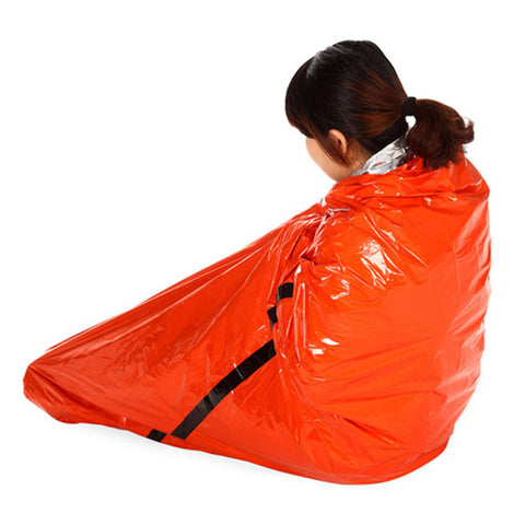 Image of Foil Waterproof Survival Thermal Camping Anti-cold Blanket - fobglobal