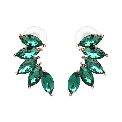 Good Quality Design Jewelry Full Crystal Fashion Earring - fobglobal
