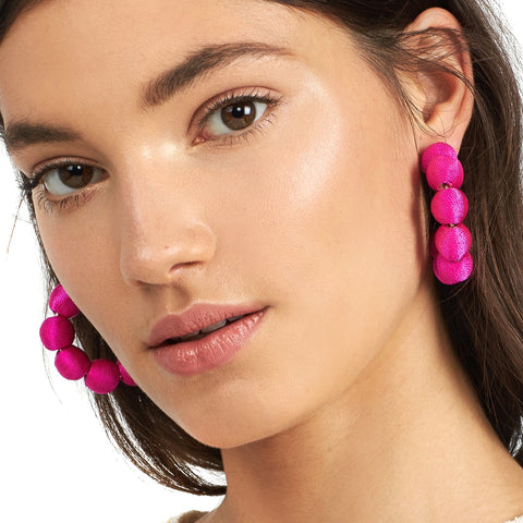 New Tassel Pom Pom Earrings - fobglobal