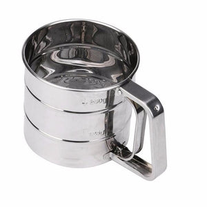 Stainless Steel Mesh Flour Sifter-Cup Kitchen Gadget