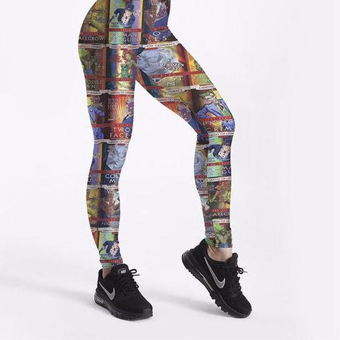 Beauty And The Beast Leggings Plus Sizes