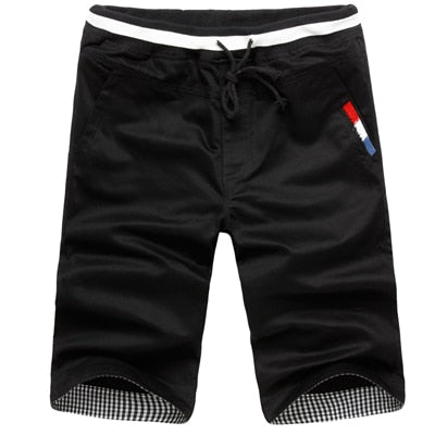 New Fashion Mens Cropped Cotton Hip Hop Outdoor Shorts - fobglobal
