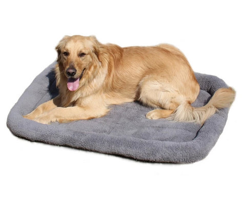 Image of Pet Large Dog Bed Soft Fleece Warm Cat Beds Multi-function