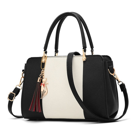 Leather Handbag  Casual Tote - fobglobal