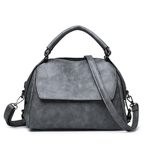 Leather Shoulder Retro Crossbody Handbag