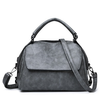Leather Shoulder Retro Crossbody Handbag - fobglobal