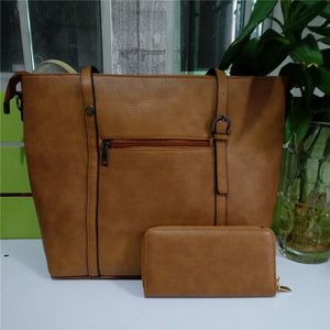 Ladies Shoulder Two-piece Handbag