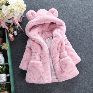 Winter Windproof Warm Children Outerwear For 1-8 Years Old