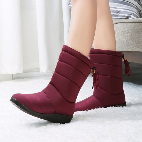 Women's Mid-Calf Winter Boots