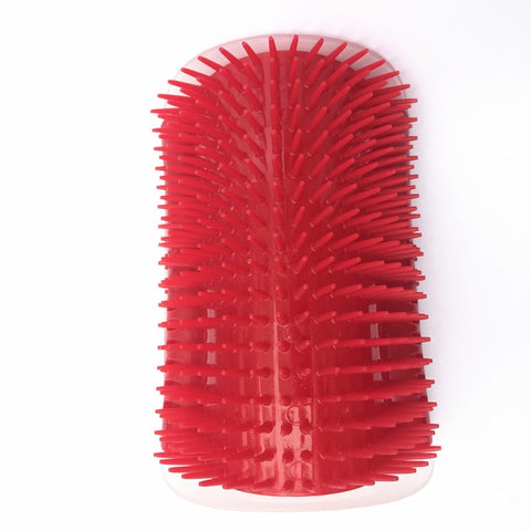 Image of Pet Brush for Cats Corner Self Groomer with Catnip