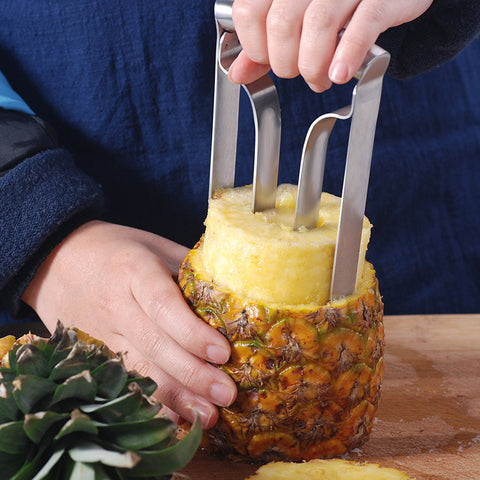 Stainless Steel Pineapple Peeler Core Tool