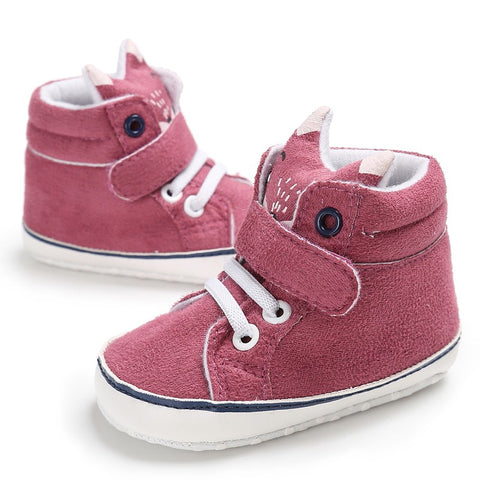 Baby Cotton Cloth First Walker Anti-slip Soft Sole Toddler Sneaker