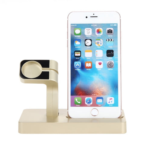Image of Charging Dock Stand for Apple Watch Series and iPhones - fobglobal