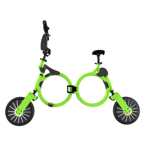 Image of Foldable Electric Bike Lithium Battery Power Bicycle - fobglobal