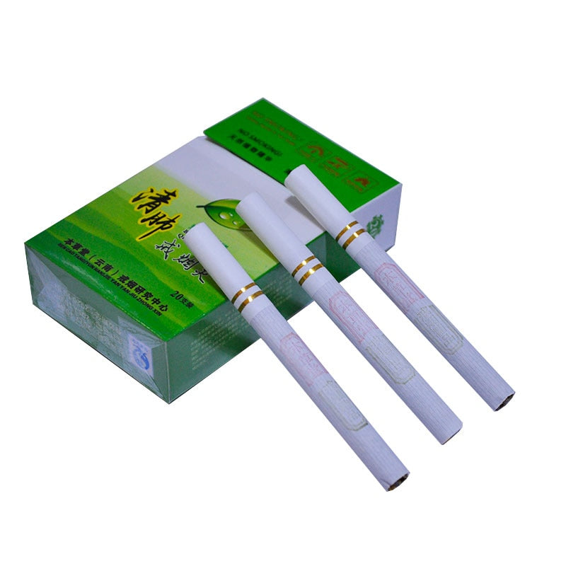 Herbal Clearing Lung to Stop Smoking Reduce Nicotine Dependency - fobglobal