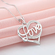 Love S925 Silver Necklace