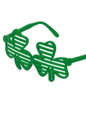 St Patrick Shamrock Blinds glasses