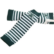 Shamrock Striped Party Gloves