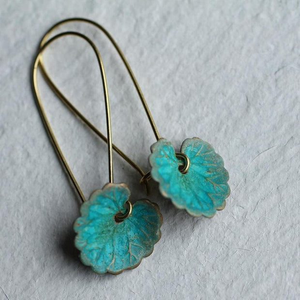 Bohemia Leaf Earrings