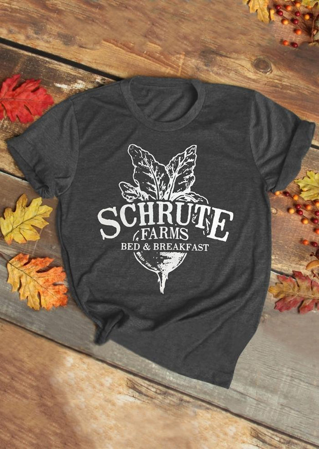 Schrute Farms Bed & Breakfast T-Shirt Tee