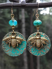 Vintage Bohemia Bees Earrings