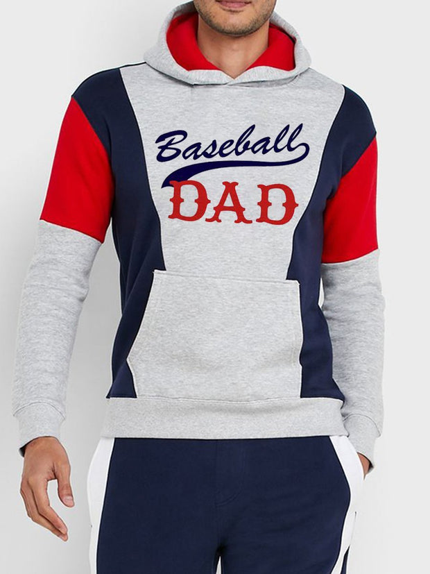 MLB Baseball Dad Men Hoodie
