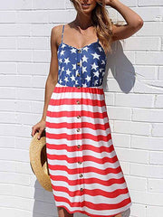 American Flag Beach Dress